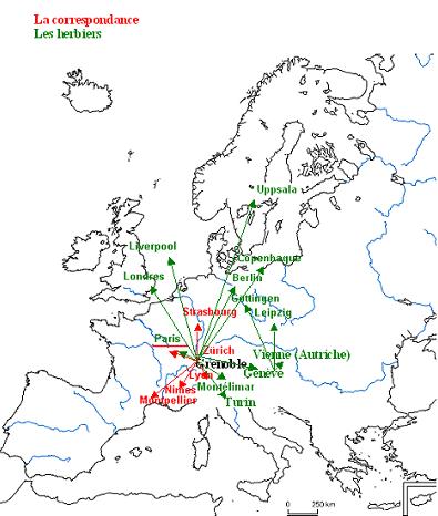 Dominique Villars et le réseau savant en France et en Europe