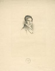 Jean-François Champollion dit le Jeune, gravure sur cuivre(Bibliothèque municipale de Grenoble, Pd 1, 2)