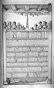 Chevalier 1694 : murs et plafond du premier cabinet