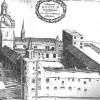 King's College, Aberdeen, 1661, from James Gordon, Aberdoniae Utriusque Descriptio