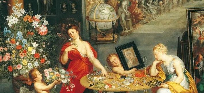 Brueghel l'Ancien 2 allégorie vue odorat 1617