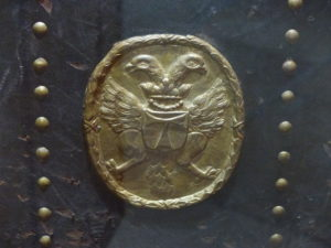 Antiphonaire de Saint-Antoine- l'Abbaye (Isère), XVIIe siècle Source : collection iconographique du Musée de Saint-Antoine-l'Abbaye et avec l'autorisation de Mme le Maire de Saint-Antoine-l'abbaye que nous remercions.